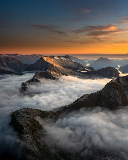 Photo Print Mountain Canada