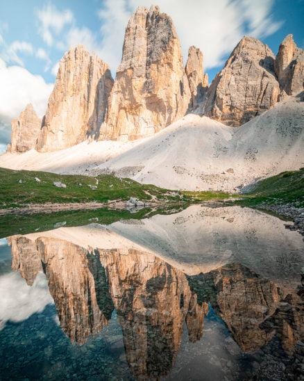 Wandbild Drei Zinnen Südtirol