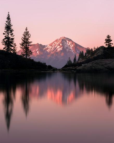 Photo Print Mount Shasta