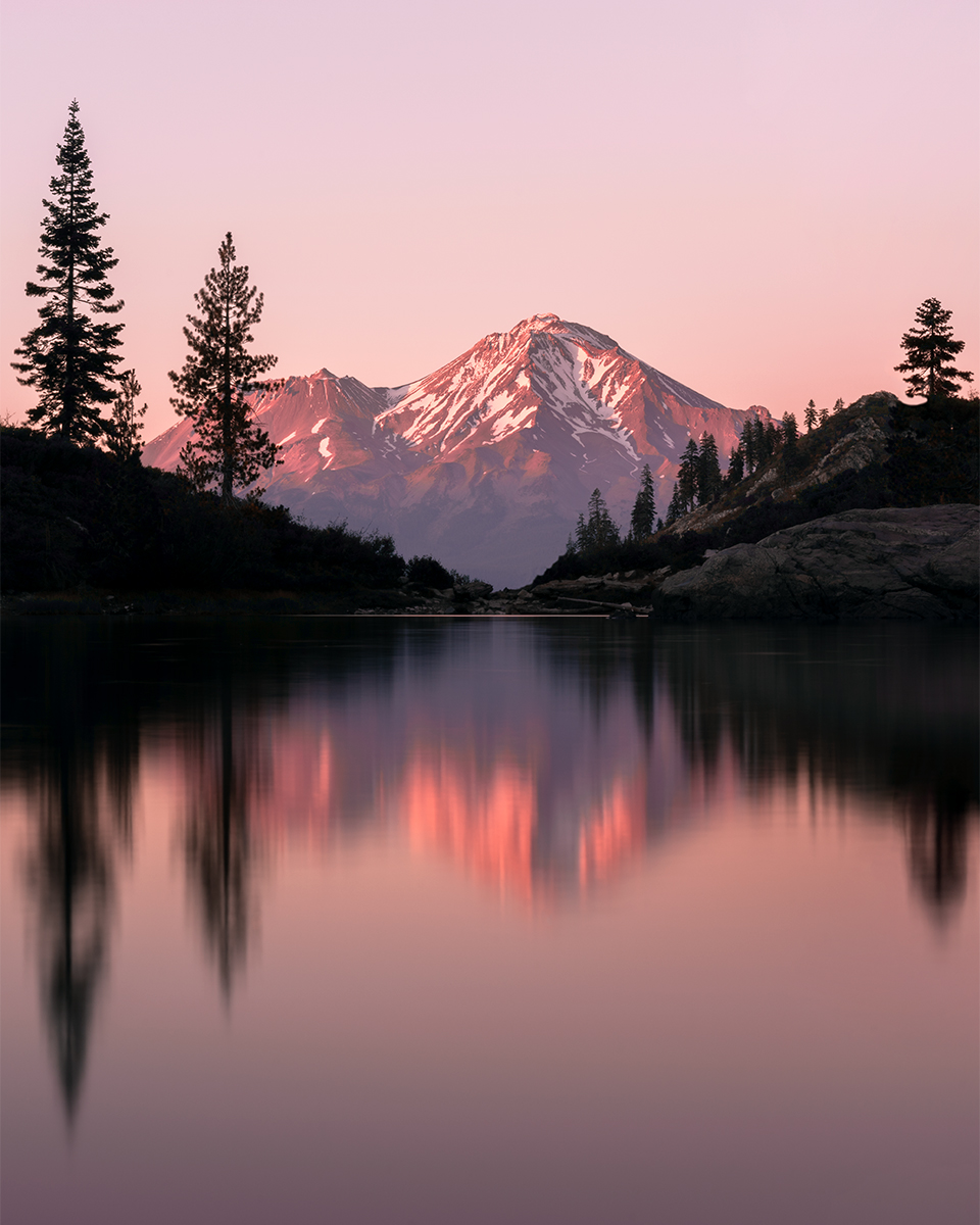 Photo Print Mount Shasta