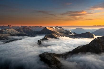 photo print Mountains