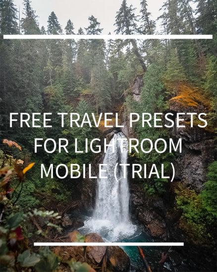 2 Free Travel Presets Lightroom Mobile